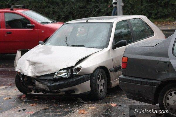 Jelenia Góra: Wypadek koło zajezdni MZK