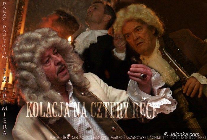 JELENIA GÓRA: Geniusze jadają na cztery ręce – premiera Teatru Norwida
