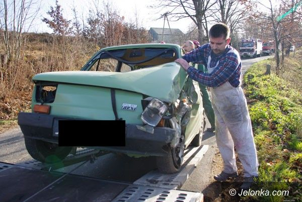 REGION: Maluch uderzył w ciągnik