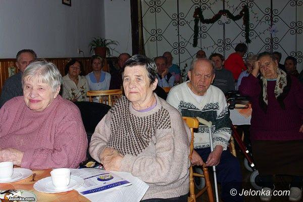 SOSNÓWKA: U seniorów jak w Betlejem
