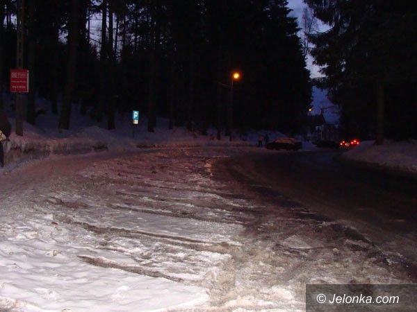 SZKLARSKA PORĘBA: Parkingowe potyczki pod Szrenicą