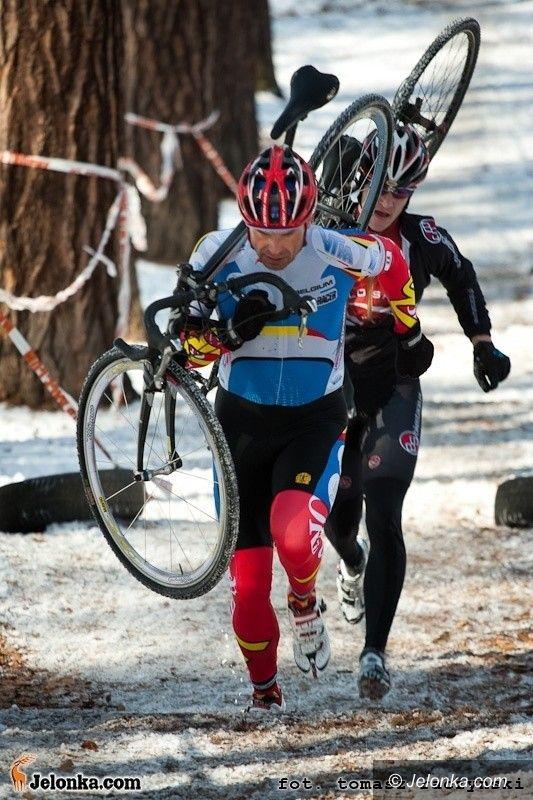 Jelenia Góra: Finał kolarskich przełajów na pierwszy dzień wiosny