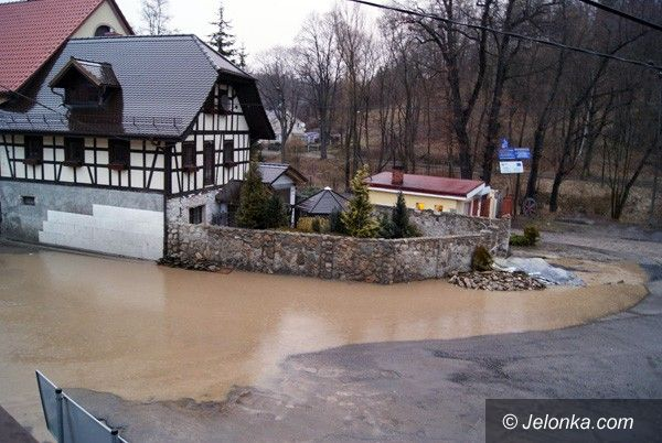 REGION: Wielka woda postraszyła