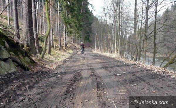 JELENIA GÓRA: Droga na Perłę Zachodu znów zniszczona