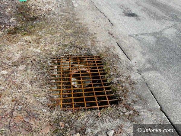 SZKLARSKA PORĘBA: Bagno na torach w Szklarskiej Porębie