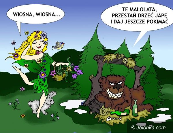 JELENIA GÓRA: Wiosna, ach to Ty!