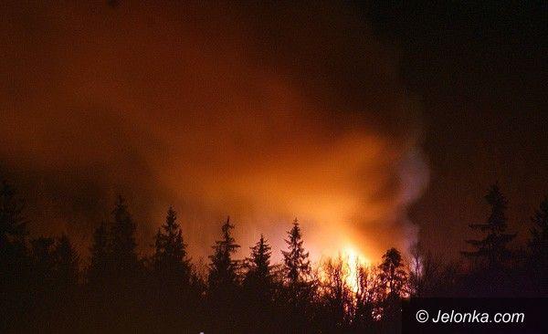 REGION: Płonęły pustostany po Juventurze