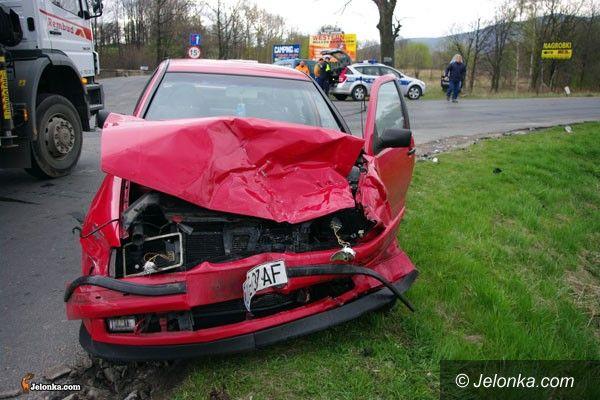 REGION: Kraksa na skrzyżowaniu