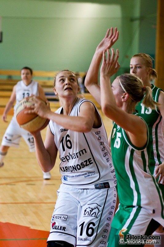 Jelenia Góra: Przegrana koszykarek na zakończenie sezonu (foto)
