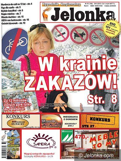 JELENIA GÓRA: Tygodnik Jelonka.com od jutra
