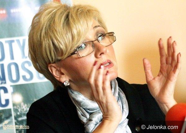 JELENIA GÓRA: Marzena Machałek jeszcze niezdecydowana