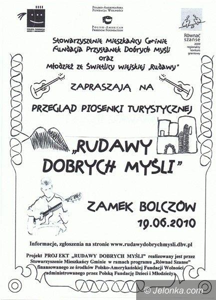 REGION: Zaśpiewajcie w ruinach Bolczowa!