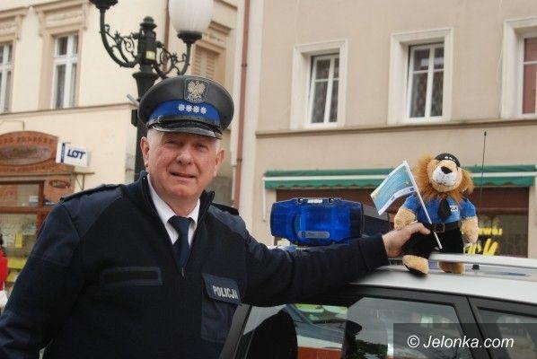 JELENIA GÓRA/ DOLNY ŚLĄSK: Za unijne szkolą policjantów