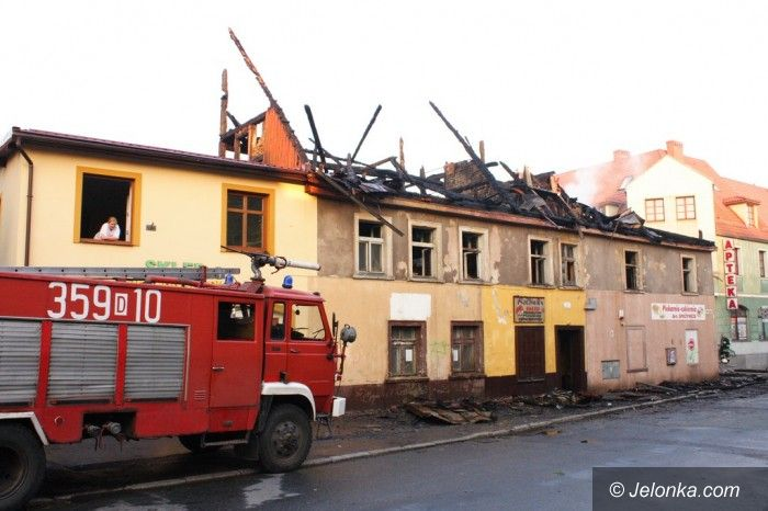 KOWARY: Groźny pożar wskutek burzy?