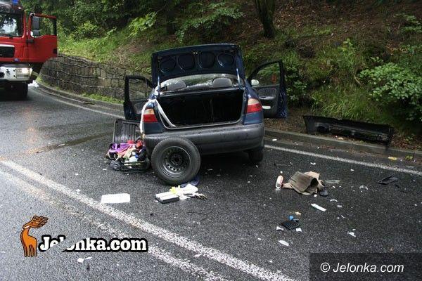 REGION: Groźny wypadek na krajowej trójce