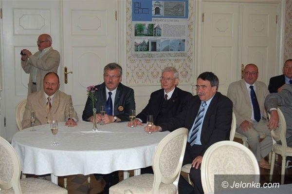 JELENIA GÓRA/ region: Rotarianie mają nowego prezydenta
