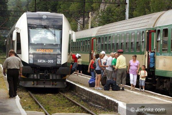 SZKLARSKA PORĘBA REPUBLIKA CZESKA: Od soboty koleją tylko do Jakuszyc– VIDEO