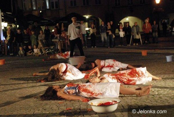 JELENIA GÓRA: Cztery żywioły w Rynku