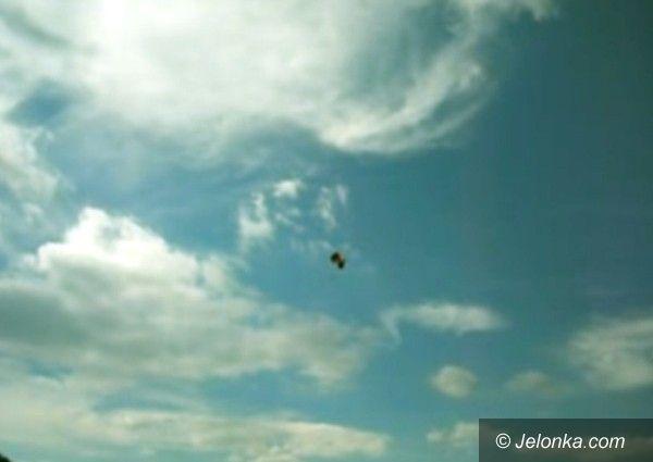JELENIA GÓRA: Groza podczas skoku na spadochronie – VIDEO
