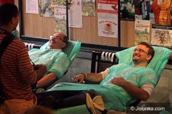 JELENIA GÓRA: Dar życia w ratuszu: zebrano ponad 30 litrów krwi!
