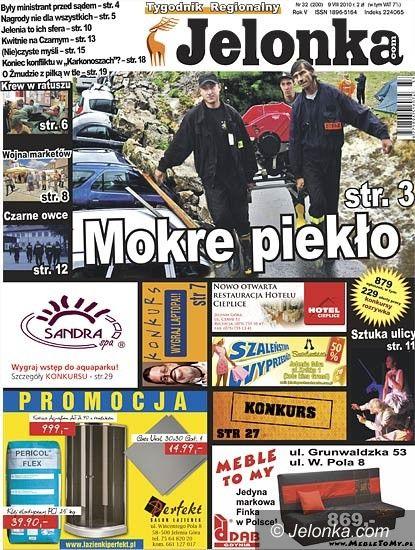 """JELENIA GÓRA: Tygodnik """"Jelonka.com"""" od poniedziałku"""