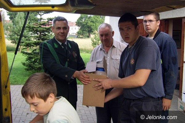 REGION KRAJ: Myśliwi z Pomorza pomogli powodzianom