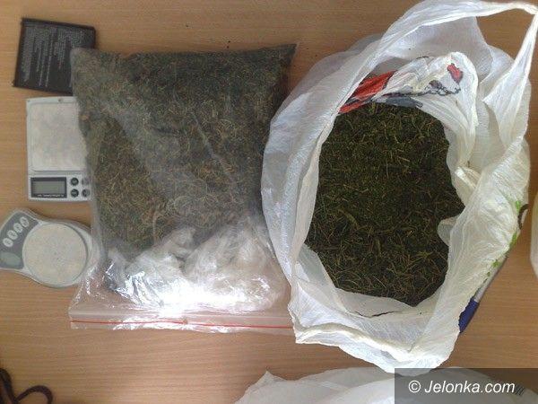 Kowary / region: 4,5 tysiąca porcji narkotyków na własne potrzeby