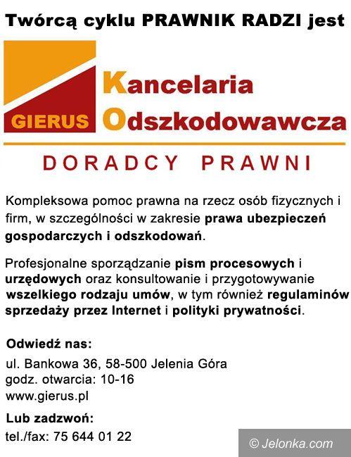 Jelenia Góra: Informacja publiczna co do podstaw oraz warunków korzystania z gruntu należącego do majątku samorządu terytorialnego