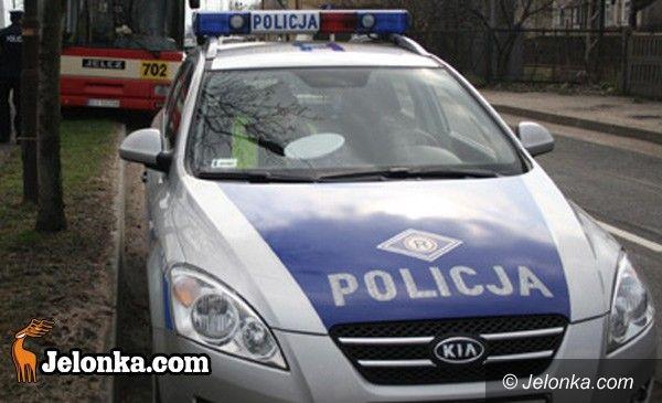 JELENIA GÓRA: Potencjalny zabójca uciekał przed policją