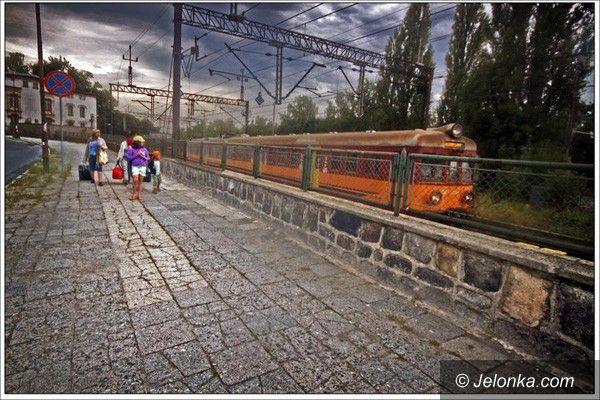 JELENIA GÓRA/REGION: Przetasowania w rozkładzie jazdy pociągów