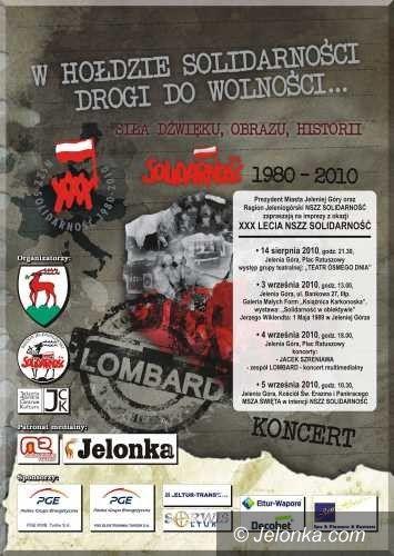 JELENIA GÓRA/ region: Lombard w hołdzie Solidarności