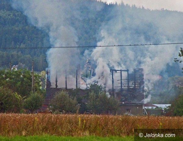 REGION: Pożar w Pakoszowie
