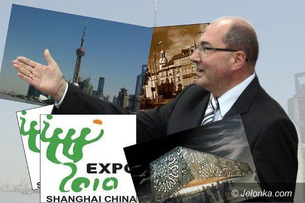 JELENIA GÓRA: M. Obrębalski w Chinach. Do inwestorów i z promocją