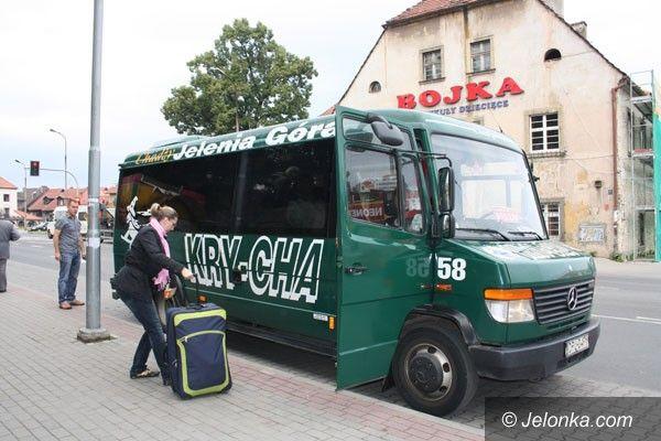 JELENIA GÓRA/WROCŁAW: Przystankowe zmiany autobusów Kry–chy