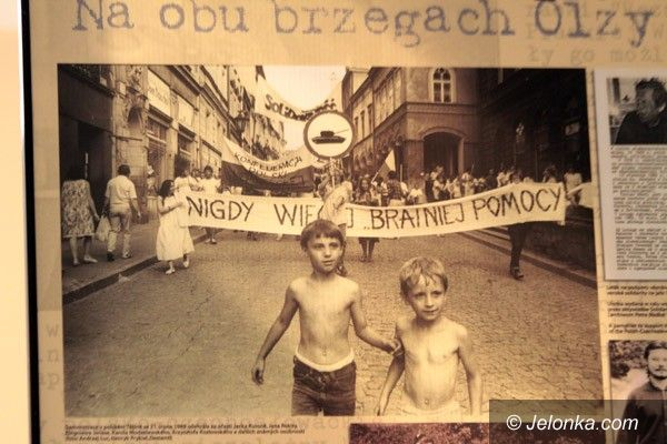 JELENIA GÓRA: Ludzka twarz polsko–czeskiej Solidarności