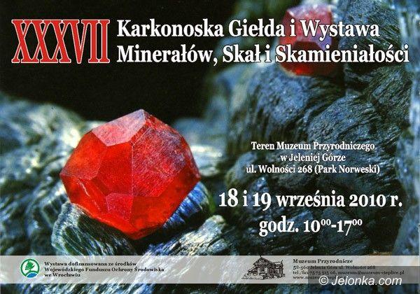 JELENIA GÓRA: Minerały w Parku Norweskim