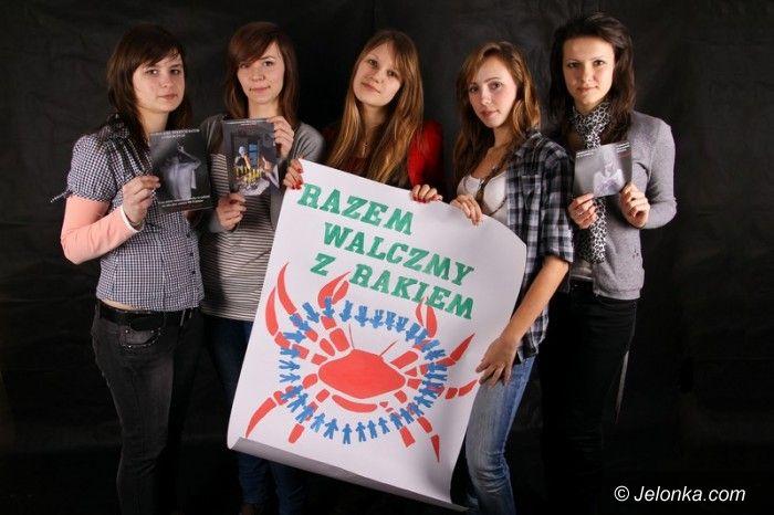 KOWARY: Kowarska młodzież namawia do walki z rakiem!