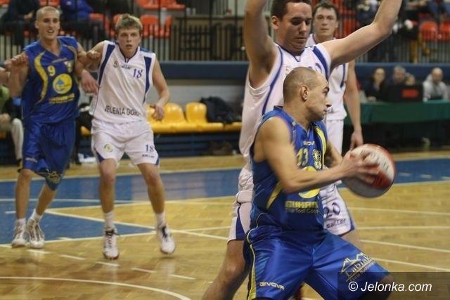 III-liga koszykarzy: Porażka Spartakusa w Wałbrzychu