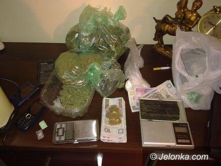 JELENIA GÓRA: Miał dwa kilogramy marihuany. Na własne potrzeby