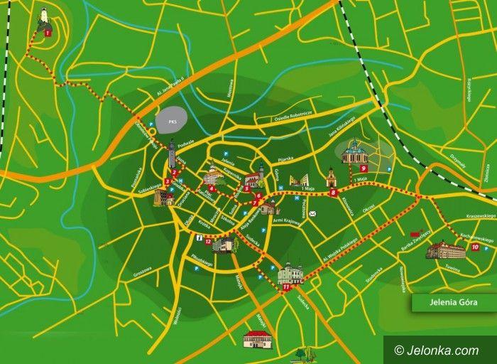 JELENIA GÓRA: Po małym i dużym trakcie śródmiejskim – panoramicznie i wirtualnie