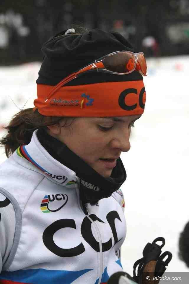 Andrzejówka: Maja Włoszczowska znów wygrywa, tym razem na nartach