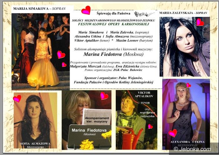 REGION: Dla zakochanych: podwójny koncert w pałacach