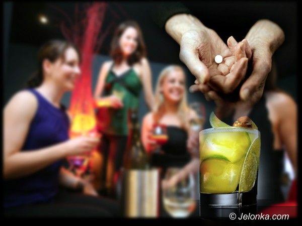 JELENIA GÓRA: Pilnuj drinka, bo zabawa może stać się koszmarem