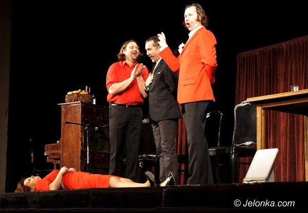 "JELENIA GÓRA: ""Savoir vivre"" żartobliwie. Kabaret ""Hrabi"" w Teatrze im. Norwida"