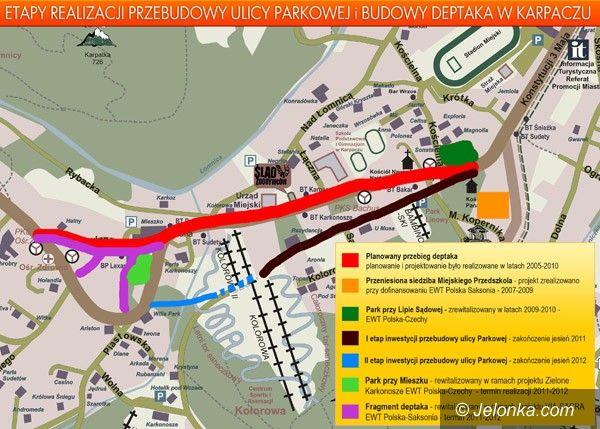 KARPACZ: Są pieniądze na przebudowę ulicy Parkowej w Karpaczu