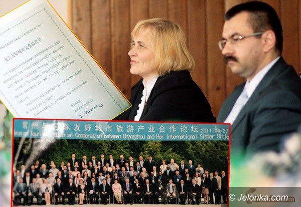 JELENIA GÓRA: Pamiątka z Chin. Początek misji gospodarczej