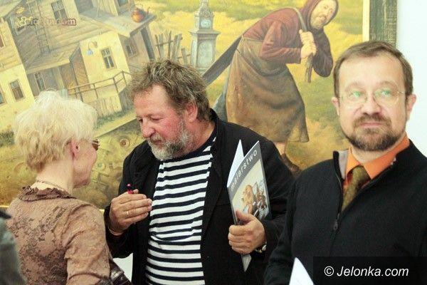 JELENIA GÓRA: Dariusz Miliński: czterdzieści lat przygody ze sztuką