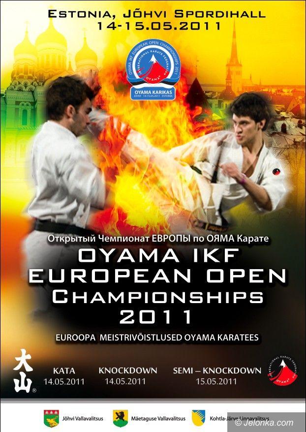 Estonia: Trzy medale Polaków podczas Mistrzostw Europy Karate Oyama