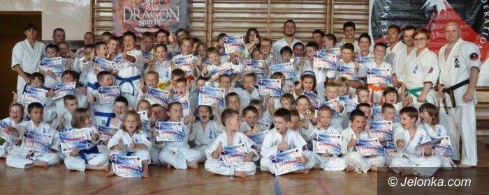 Jelenia Góra: X Jubileuszowe Mistrzostwa Kata dzieci Jeleniogórskiego Klubu Oyama