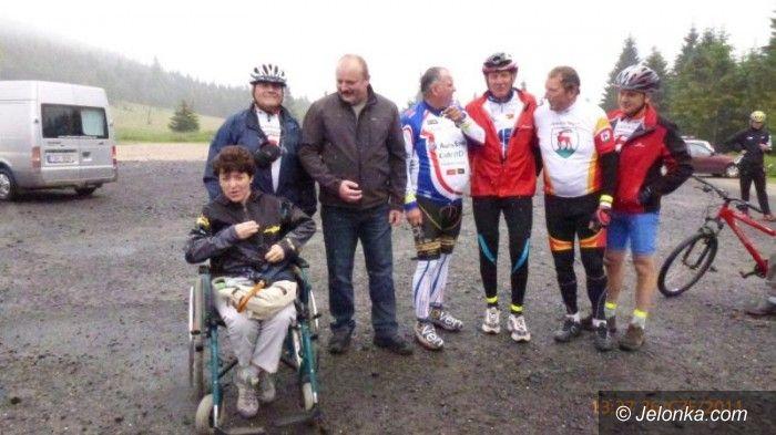 Jakuszyce: Międzynarodowy przejazd cyklistów